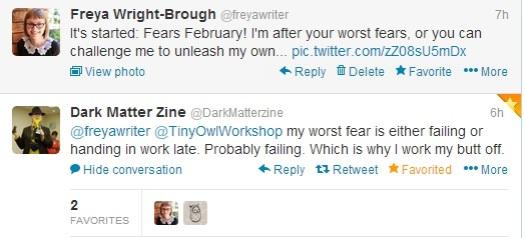 fear tweet dark matter